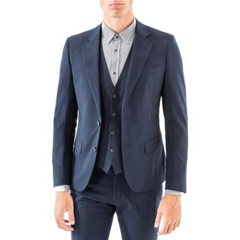 Abbigliamento Uomo Giacche da completo Antony Morato MMJA00364-FA600104-GIACCA 7051-blu