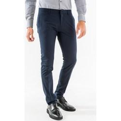 Abbigliamento Uomo Pantaloni da completo Antony Morato mmtr00449-fa600104-pantalone 7051-blu