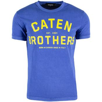 Abbigliamento Uomo T-shirt maniche corte Dsquared DSQTSHUA172ST0293805 Blu