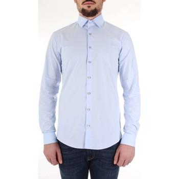 Abbigliamento Uomo Camicie maniche lunghe Calvin Klein Jeans K10K103170 Celeste