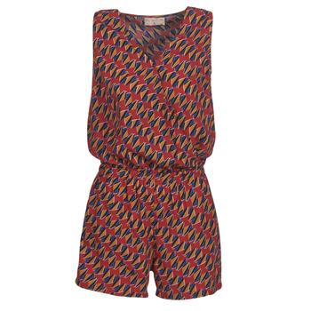 Abbigliamento Donna Tuta jumpsuit / Salopette Moony Mood KETTELLE Rosso / Multicolore