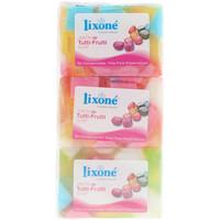 Bellezza Detergenti e struccanti Lixone Tutti-frutti Jabón Glicerina Vegetal 3 X 125 Gr 3 x 125 g