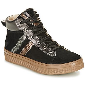Scarpe Bambina Sneakers alte GBB KIBEL Nero