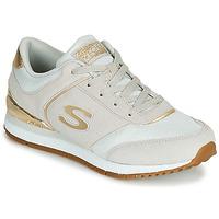 Scarpe Donna Sneakers basse Skechers SUNLITE Grigio / Oro