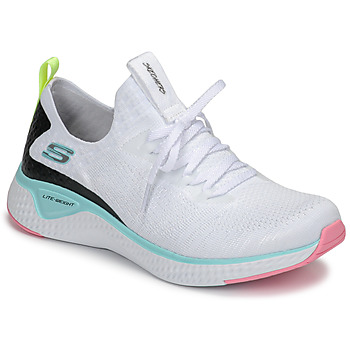 Scarpe Donna Fitness / Training Skechers FLEX APPEAL 3.0 Bianco / Rosa / Blu