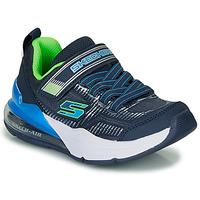 Scarpe Bambino Sneakers basse Skechers SKECHERS BOY Blu / Verde