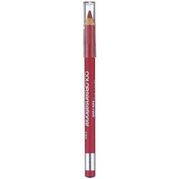 Bellezza Donna Matita per labbra Maybelline Color Sensational Lip Liner 547-pleasure Me Red 1 u