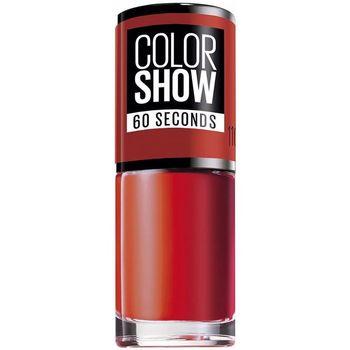 Bellezza Donna Smalti Maybelline Color Show Nail 60 Seconds 110-urban Coral 7 ml
