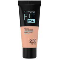 Bellezza Donna Fondotinta & primer Maybelline Fit Me Matte+poreless Foundation 238-rich Tan 30 ml