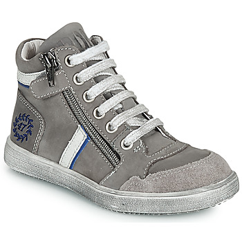 Scarpe Bambino Sneakers alte Ramdam HOUSTON Grigio