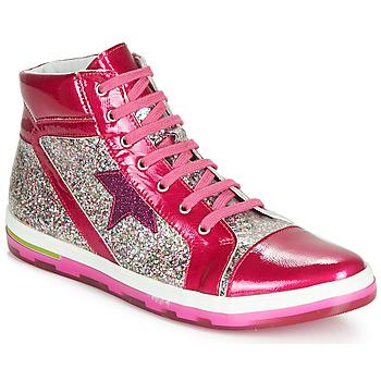 Scarpe Bambina Sneakers alte Ramdam KATO Rosa