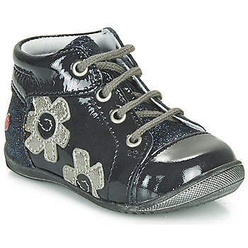 Scarpe Bambina Sneakers alte GBB NEIGE Marine / Argento