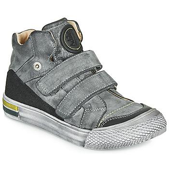 Scarpe Bambino Sneakers alte Achile HUGO Grigio