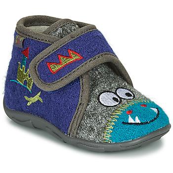 Scarpe Bambino Pantofole GBB NASTRIANO Blu / Grigio