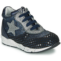 Scarpe Bambina Sneakers basse Ikks KAREN Blu / Argento