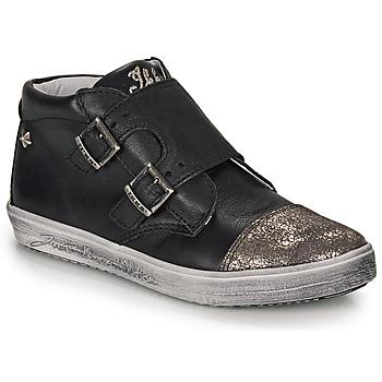 Scarpe Bambina Sneakers alte Ikks BIANCA Nero