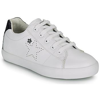 Scarpe Bambina Sneakers basse Ikks MOLLY Bianco / Nero