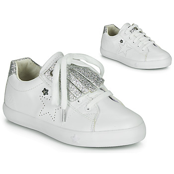 Scarpe Bambina Sneakers basse Ikks MOLLY Bianco / Argento