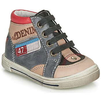 Scarpe Bambino Sneakers alte GBB PARIS Grigio / Beige