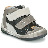 Scarpe Bambino Sneakers alte GBB PATRICK Grigio