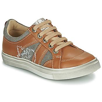 Scarpe Bambino Sneakers basse GBB PALMYRE Cognac