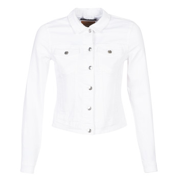 Abbigliamento Donna Giacche in jeans Only ONLTIA Bianco