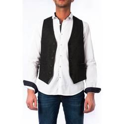 Abbigliamento Uomo Gilet / Cardigan Koon VODKA BC68 NER Nero