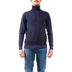 Abbigliamento Uomo Maglioni Sun68 K28111 07 NAVY Maglia Uomo Uomo Blu Blu
