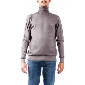 Abbigliamento Uomo Maglioni Sun68 K28111 91 ACCIAIO Maglia Uomo Uomo Grigio Scuro Grigio Scuro