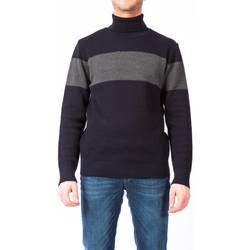 Abbigliamento Uomo Maglioni Moreno Martinelli 588124A 03 NERO Maglia Uomo Uomo Nero/grigio Nero/grigio
