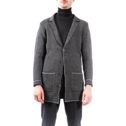 Abbigliamento Uomo Cappotti Barbati 119 MA-B-220 CAP Cappotto Uomo Uomo Nero Nero