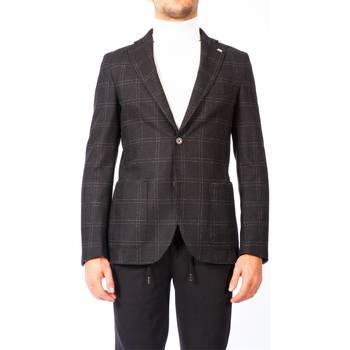 Abbigliamento Uomo Giacche / Blazer Barbati GI-NIK 572/01 GRI Giacca Uomo Uomo Grigio Grigio