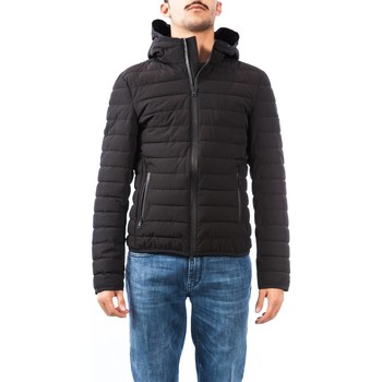 Abbigliamento Uomo Piumini Up To Be SNOW AH 100 NERO Giubbino Uomo Uomo Nero Nero