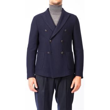 Abbigliamento Uomo Giacche / Blazer Fradi POST_TWO 5910 28 BLU Giacca Uomo Uomo Blu Blu