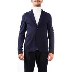 Abbigliamento Uomo Giacche / Blazer Alessandro Dell'acqua AD2158J/T8275E 50 B Blu