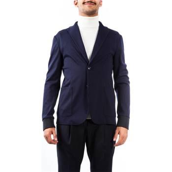 Abbigliamento Uomo Giacche / Blazer Alessandro Dell'acqua AD2158J/T8275E 50 B Giacca Uomo Uomo Blu Blu