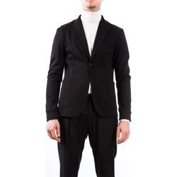 Abbigliamento Uomo Giacche / Blazer Alessandro Dell'acqua AD2158J/T8275E 80 N Giacca Uomo Uomo Nero Nero