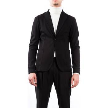 Abbigliamento Uomo Giacche / Blazer Alessandro Dell'acqua AD2158J/T8275E 80 N Nero