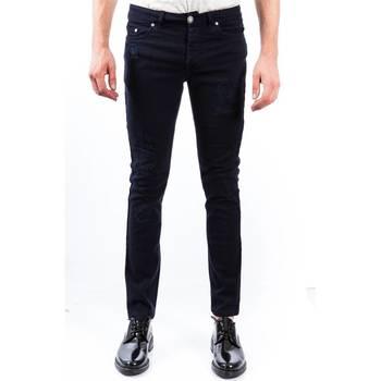 Abbigliamento Uomo Jeans dritti Alessandro Dell'acqua AD7176WB/D0014ES 50 Blu