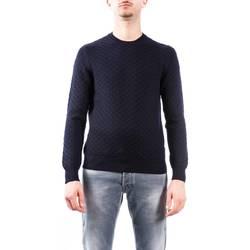 Abbigliamento Uomo Maglioni La Fileria 23143/14243/598 BLU Maglia Uomo Uomo Blu Blu
