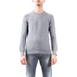 Abbigliamento Uomo Maglioni La Fileria 57109/14240/071 GRI Maglia Uomo Uomo Grigio Chiaro Grigio Chiaro
