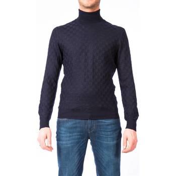 Abbigliamento Uomo Maglioni La Fileria 57157/14218 598 BL Maglia Uomo Uomo Blu Blu