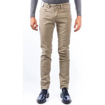 Abbigliamento Uomo Pantaloni 5 tasche Re-hash RUBENS CS5889 0133 Beige