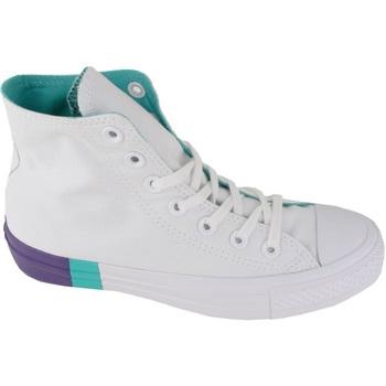 Scarpe Sneakers alte Converse All Star HI Triblock Midsole                           Multicolore