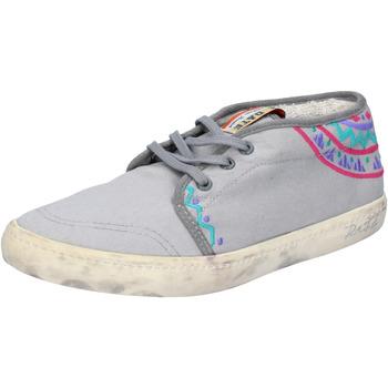 Scarpe Donna Sneakers basse Date sneakers grigio tessuto AP518 grigio