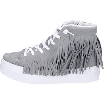 Scarpe Donna Sneakers alte 2 Stars sneakers grigio camoscio ap707 grigio