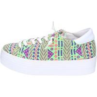 Scarpe Donna Sneakers basse 2 Stars sneakers multicolor tessuto ap709 multicolor