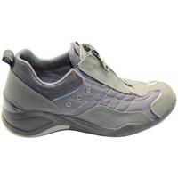 Scarpe Donna Sneakers basse Bata Donna Sneakers In Pelle e Tessuto In Colore Grigio Grigio