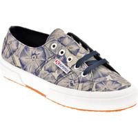 Scarpe Donna Sneakers basse Superga 2750 Fabric Sportive basse blu