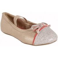 Scarpe Bambina Ballerine Flower Girl 220802-B4600 Beige
